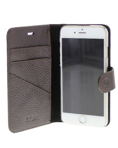 BYBI Lifestyle Fashion Brand Classic Donker Bruin iPhone 8