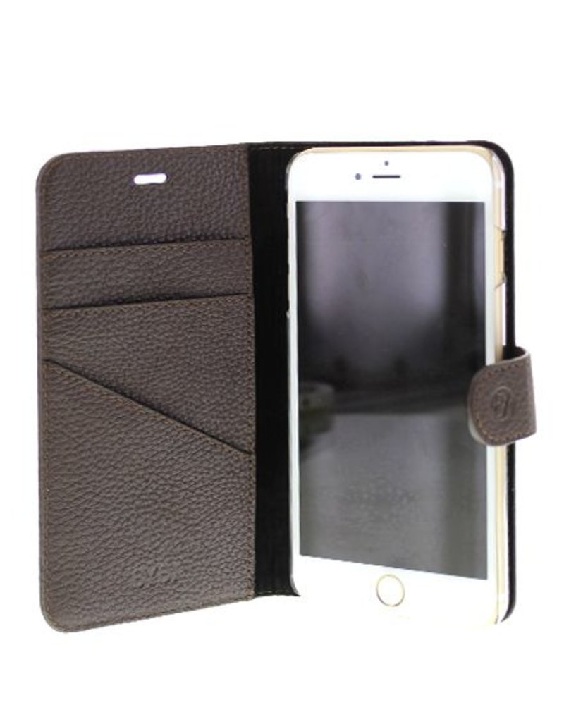 BYBI Lifestyle Fashion Brand Classic Donker Bruin iPhone 8 Plus