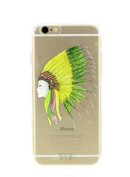 BYBI Lifestyle Fashion Brand Sioux telefoonhoesje iPhone 8