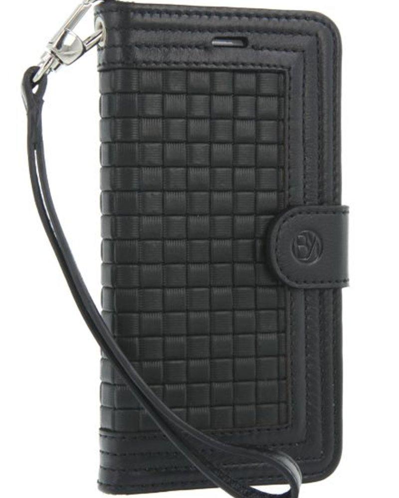 BYBI Lifestyle Fashion Brand Memorable Milano Hoesje Zwart iPhone 8
