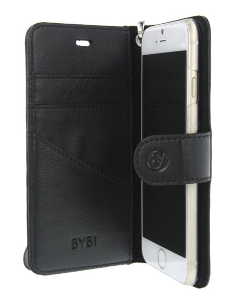 BYBI Lifestyle Fashion Brand Memorable Milano Hoesje Zwart iPhone 8