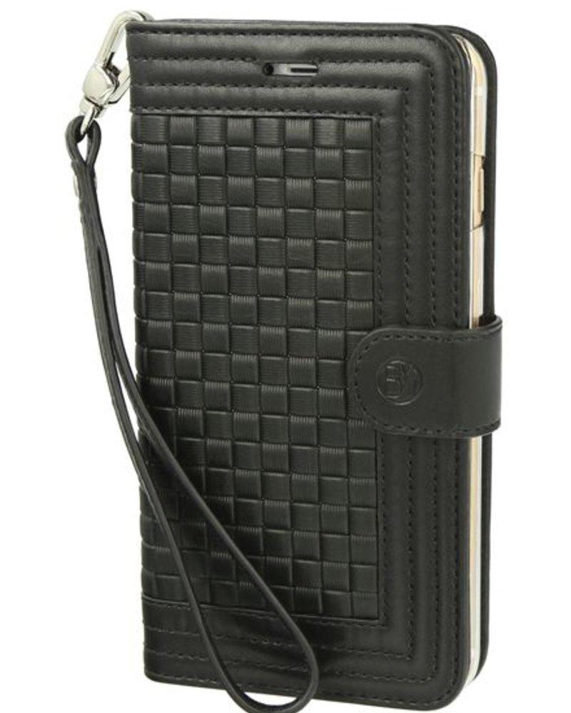 BYBI Lifestyle Fashion Brand Memorable Milano Hoesje Zwart iPhone 8 Plus
