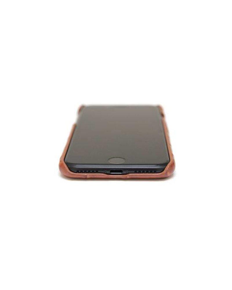 XO XO luxury croco Cognac iPhone 8