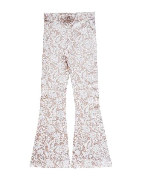 Bell bottoms soft pink lace