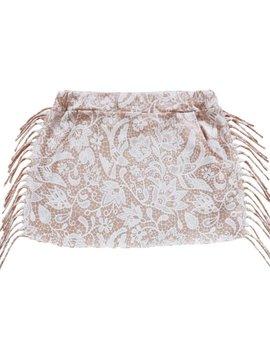 Petitbo Set skirt soft pink lace