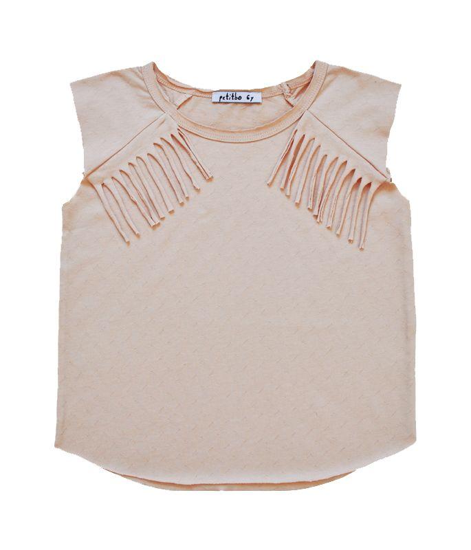 Petitbo Tane top soft pink