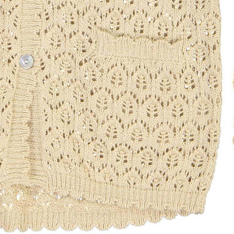 Louise Misha Minouche beige cardigan