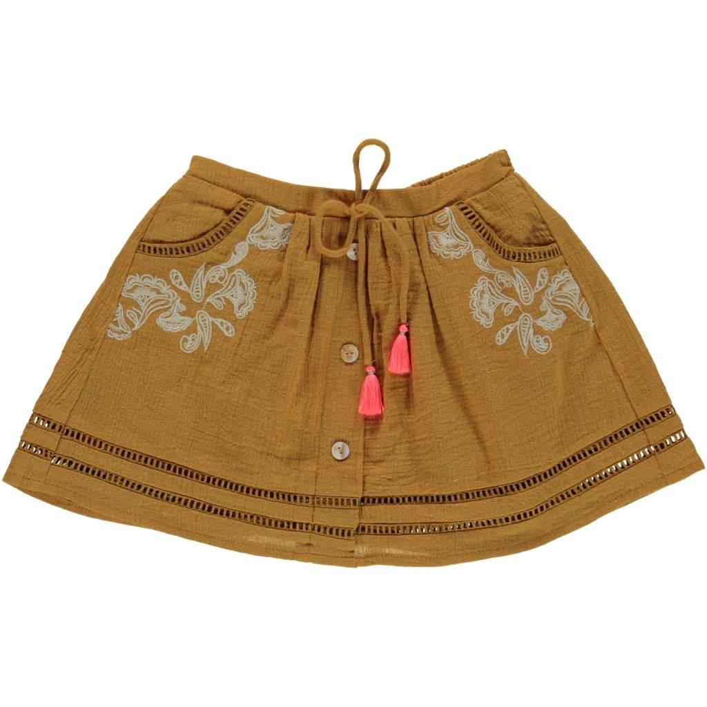 Louise Misha Skirt Penelope mustard