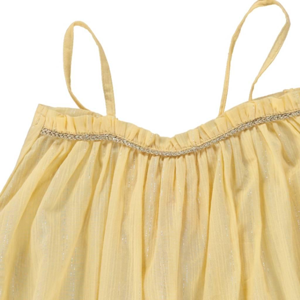 Louise Misha Dress Citron yellow