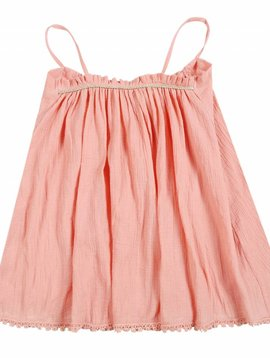 Louise Misha Dress Rust