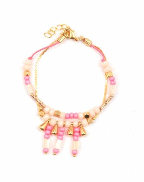 Louise Misha Bracelet Inca Pink Woman