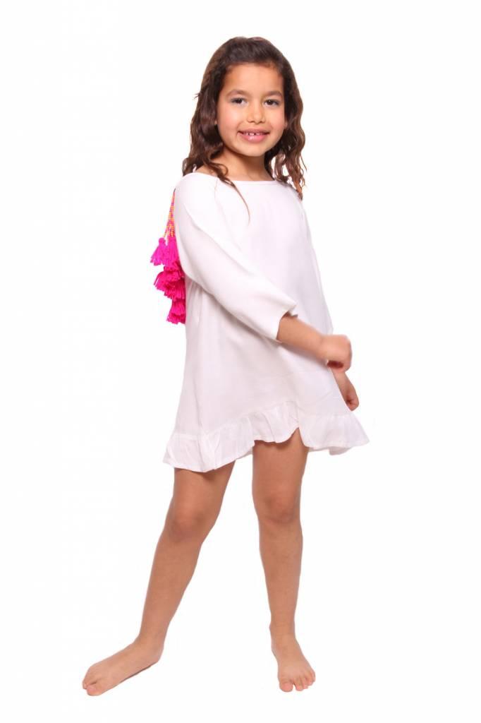 Alaia Baby White/Pink
