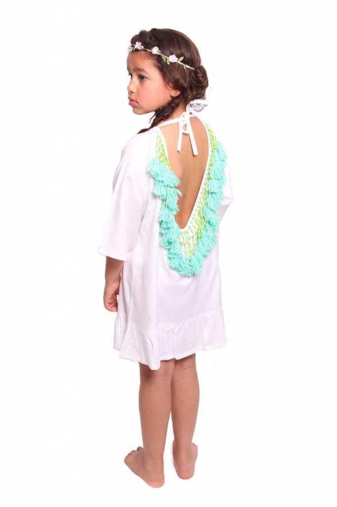 Alaia Baby White/Turquoise