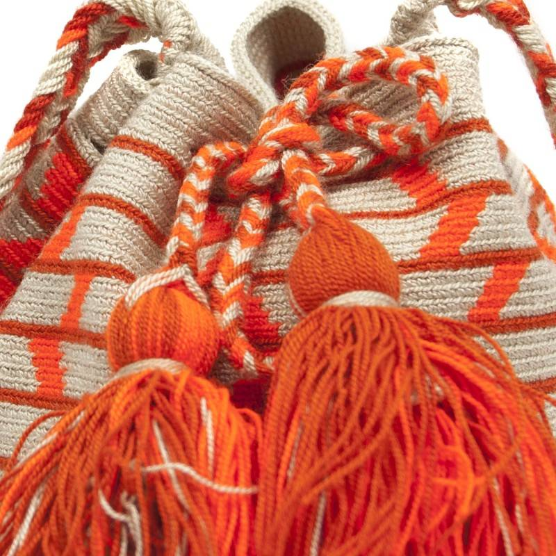 Guanabana Bag Wayuu M orange