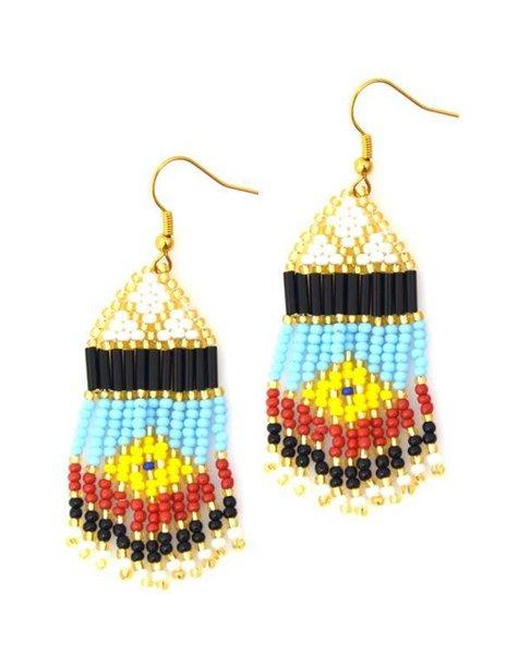 Nilu Earrings The Small Boho Chic