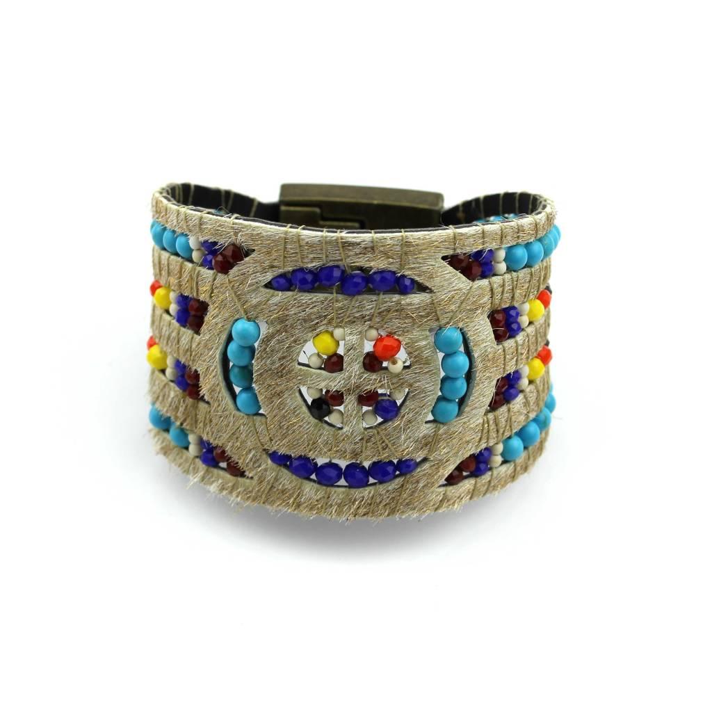 The glitter gold bracelet