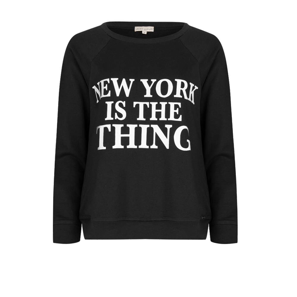 Jacky Luxury Sweater New York is the thing- kids