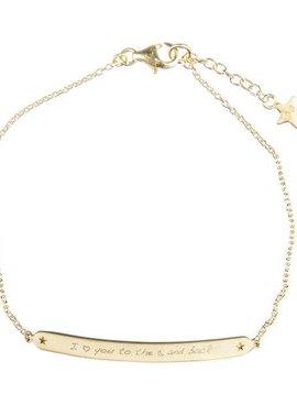Bracelet Love moon enfants G