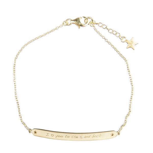 Betty Bogaers Love bracelet moon kids G