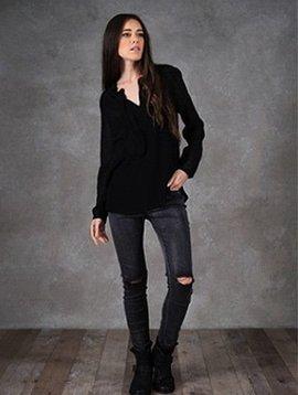 Amy Lou gray jeans