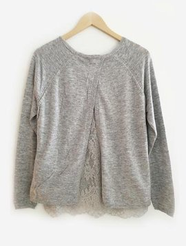 Amy Lou Pull gris clair