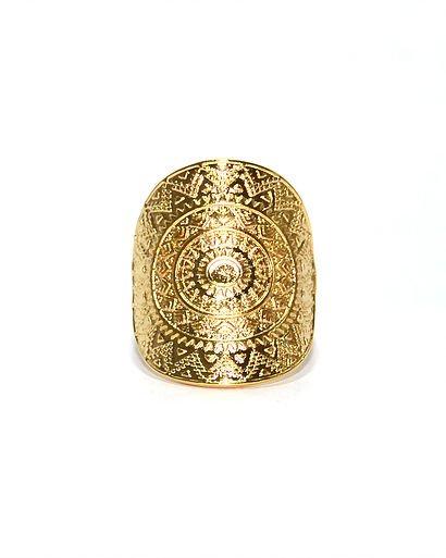 Ring Nilu gold color
