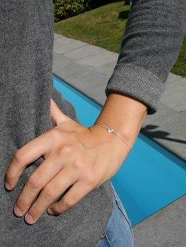 Bracelet Loup argent enfants