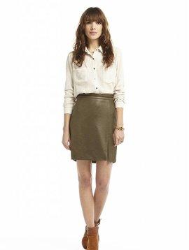 Charlise khaki skirt: last 2 items