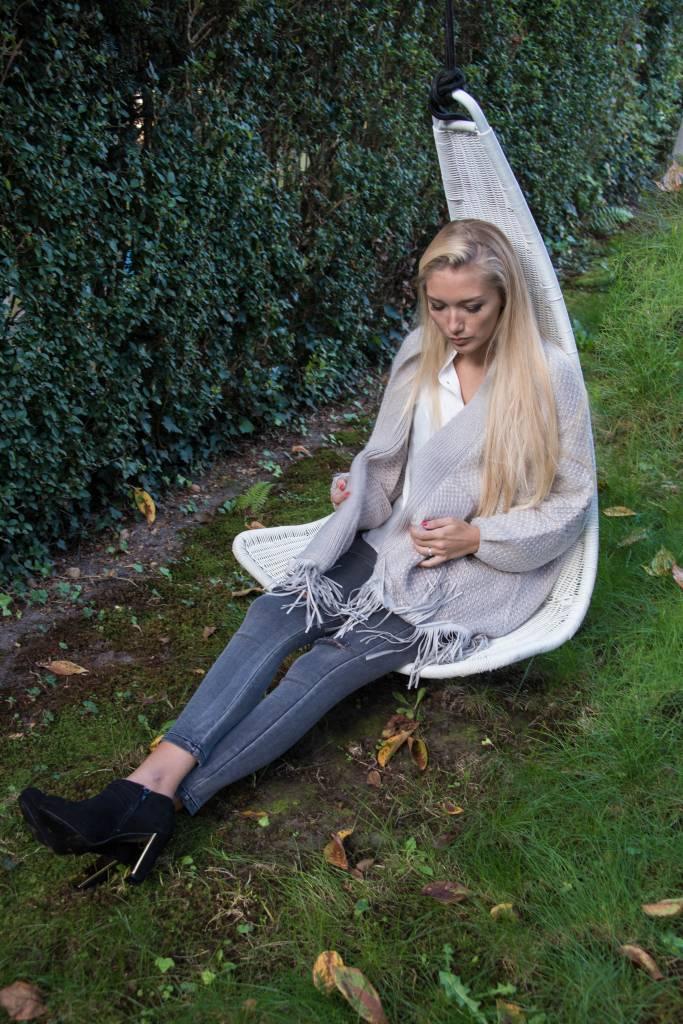 Cardigan grey / praline Charlise