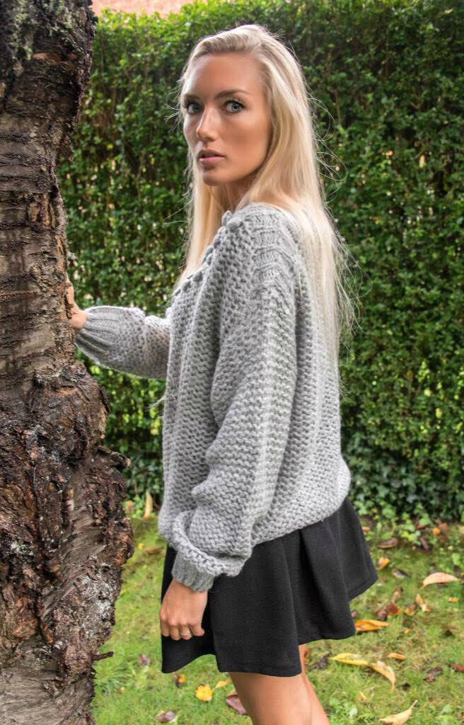 Carminn Gray sweater Carminn