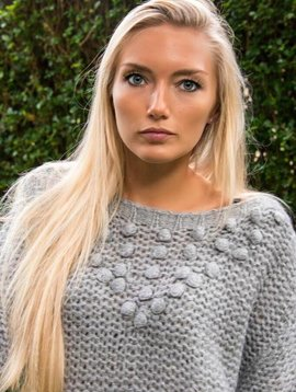 Carminn Gray sweater Carminn wool
