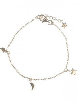 Betty Bogaers Twinkle chain bracelet plated gold KID