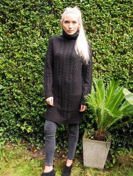 My Sunday Morning Pull/jurk Rose zwart: laatste 2