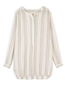 Shirt long Jules striped grey/black (last one)