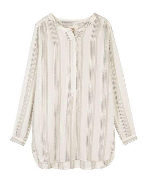 My Sunday Morning Shirt/blouse Jules striped grey/black