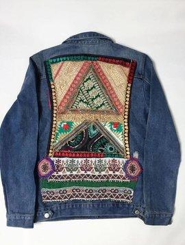 Monikmo Jean jacket Ananda multicolor Large