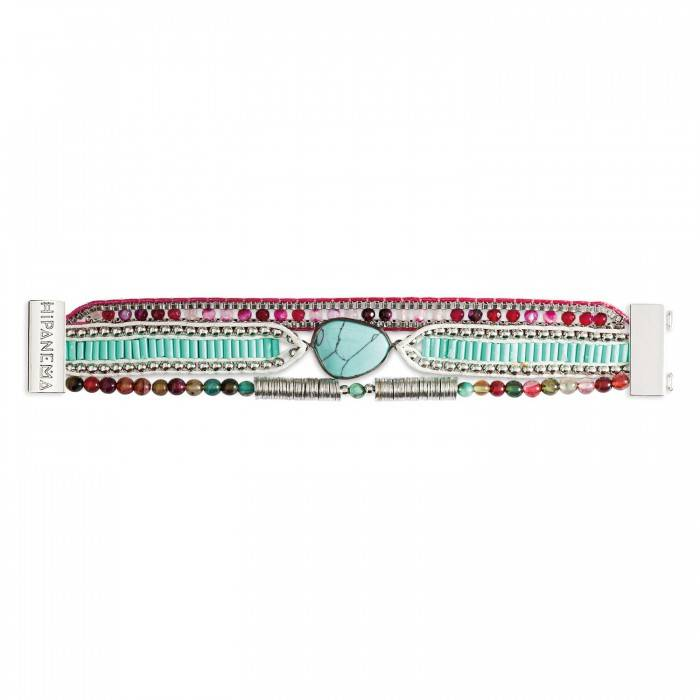 Hipanema Bracelet Annie-Mini turquoise/violet
