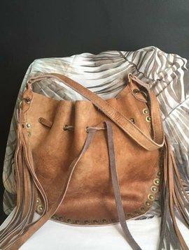 Melissimo Handtas 'bag pouch' bruin laatste stuk