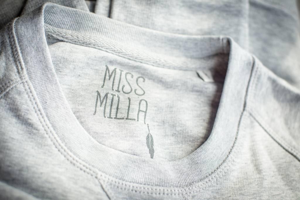 Miss Milla EN CORE sweat men heather grey