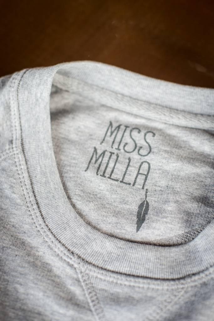 Miss Milla YOGA ROCKS  tank top zwart