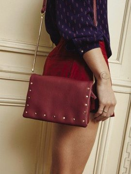 Amenapih Citizen Mini burgundy bag