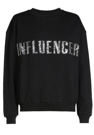 O'Rèn Sweater – INFLUENCER black paillet