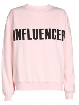 O'Rèn Sweater – INFLUENCER pink print