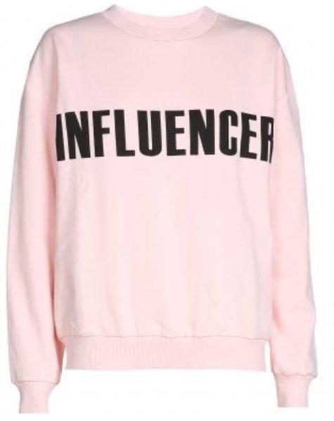 O'Rèn Sweater – INFLUENCER pink print basic
