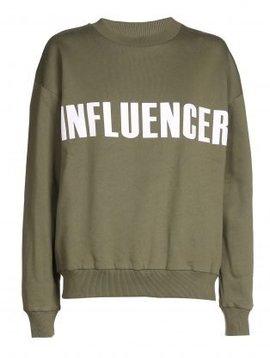 O'Rèn Sweater – INFLUENCER khaki- basic