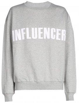 Sweater – INFLUENCER gris basic