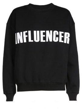 Sweater – INFLUENCER black basic