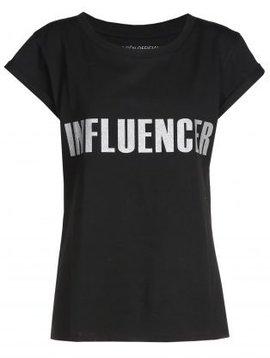 T-shirt– INFLUENCER noir