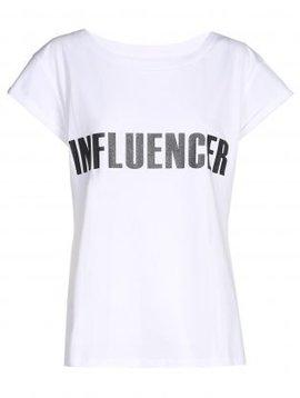 T-shirt– INFLUENCER blanc