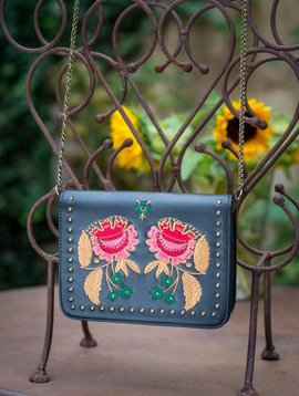 Amenapih Rose bag floral embroidery  (last one)